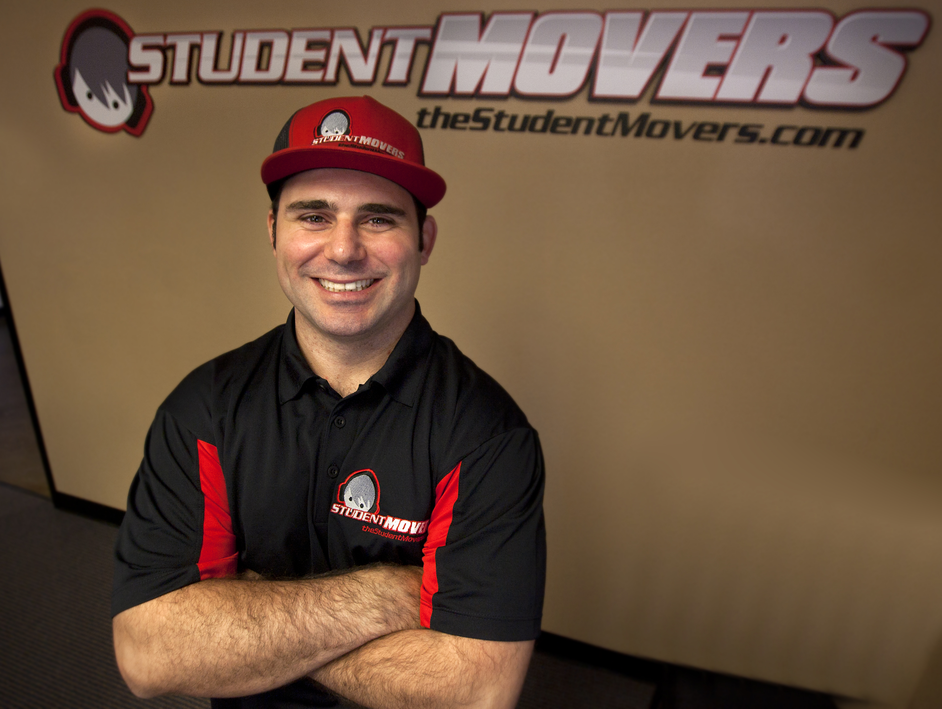 President Shawn Wood of Student Movers