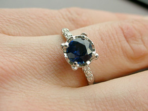 Picture of an Antique Engagement Ring Credit to Lara604