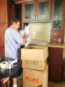 Picture of Corporate Relocation Mover Packing Boxes