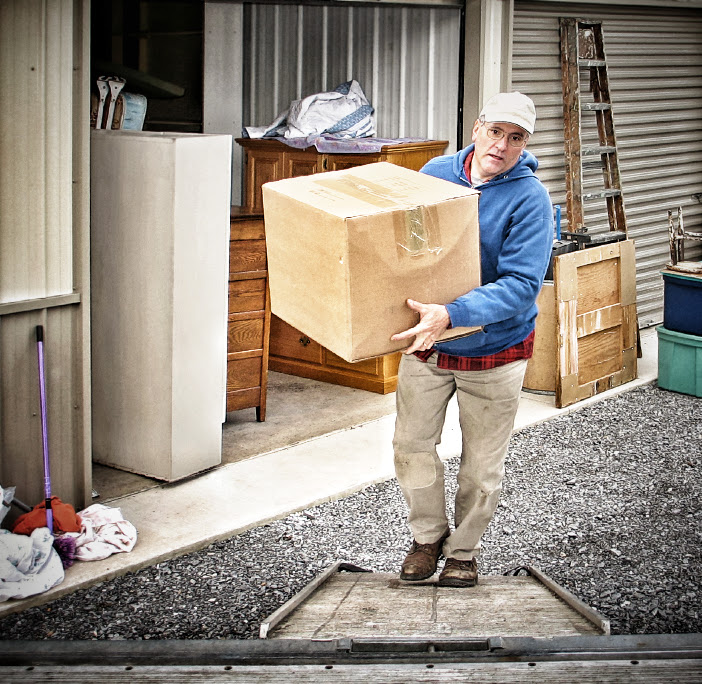 Picture of Man Moving Out of Storage