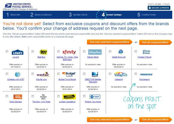 Usps coupon codes that work