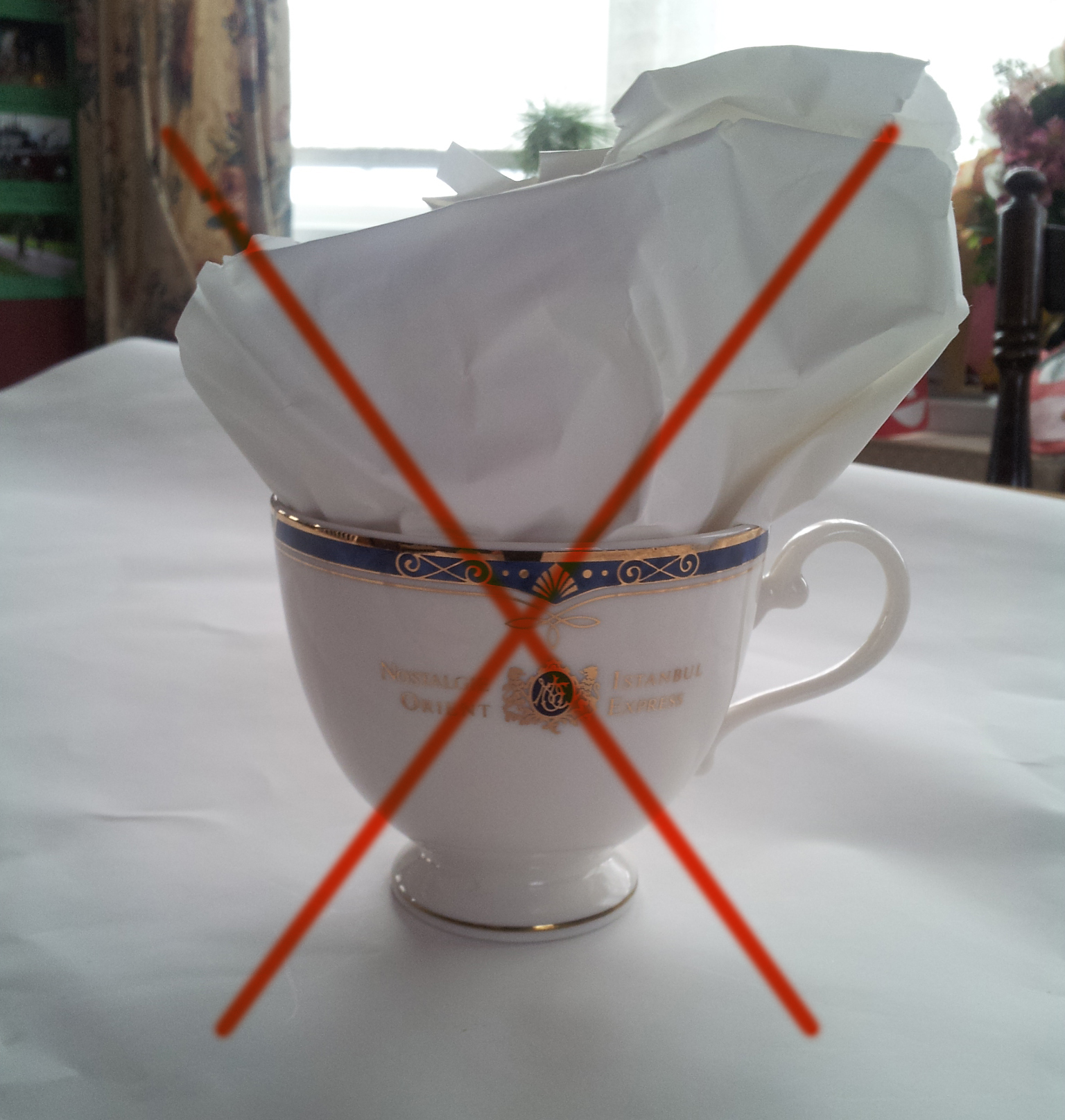 How Not to Pack Teacups
