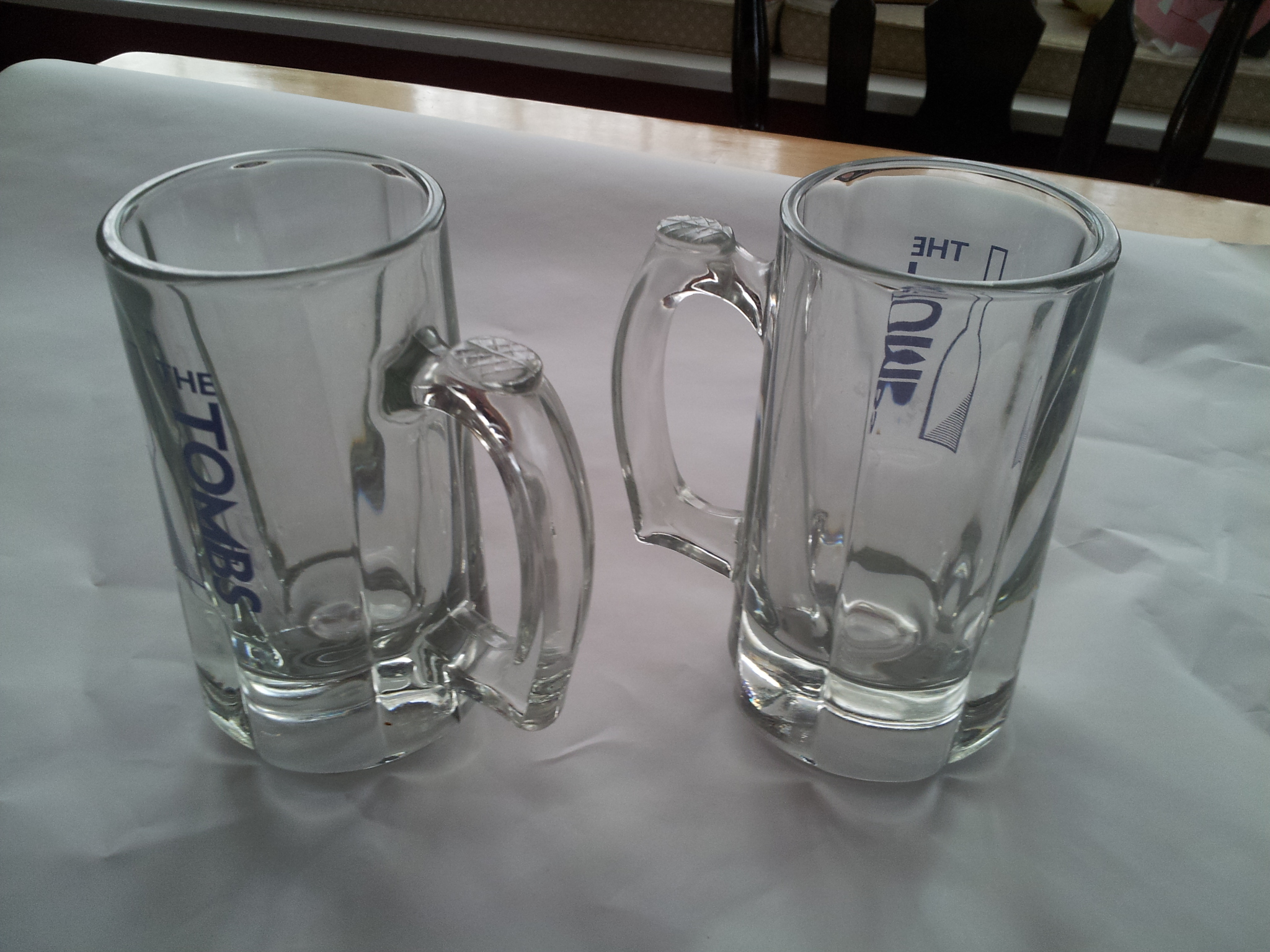 Photo of Packing Beer Mugs Step 2