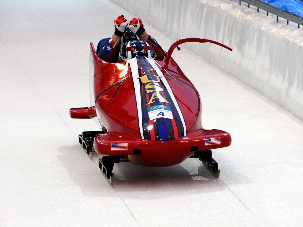 Photo of USA Bobsled Team