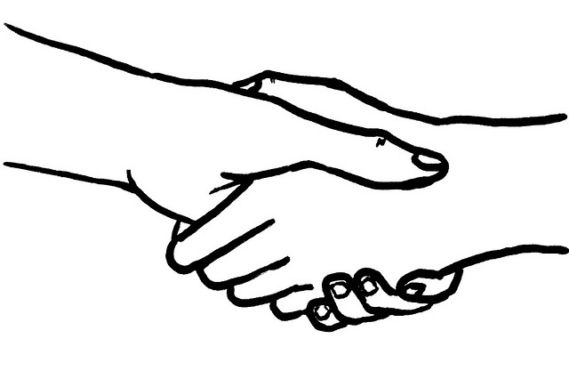 Handshake Illustration