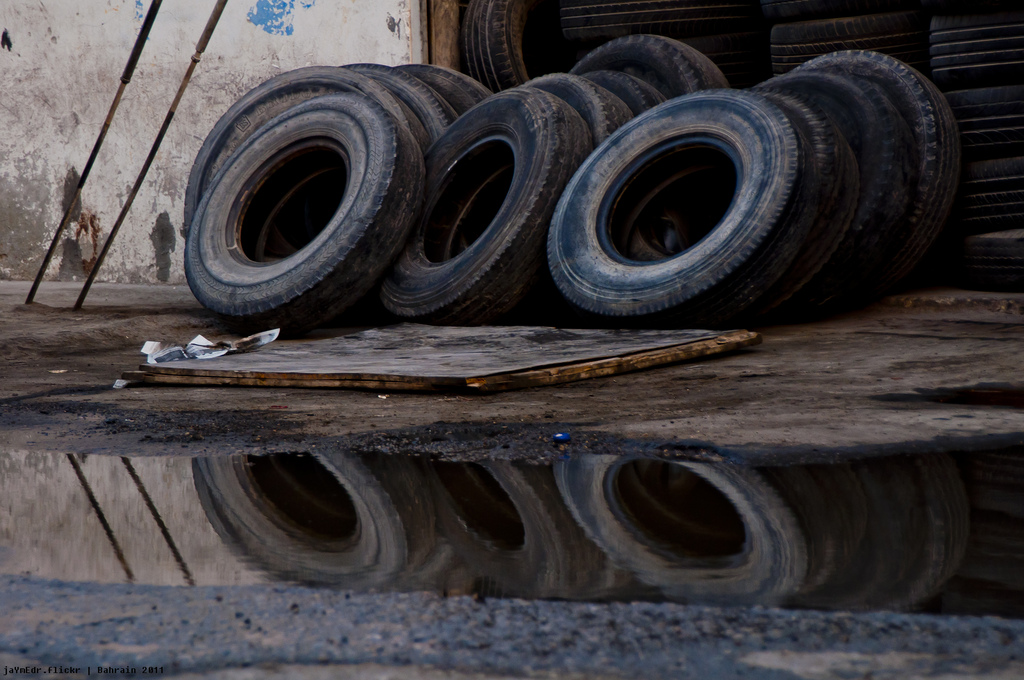 Picture of Old Tires. Credit to Jayme del Rosario