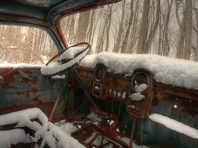 Old Man Winter's Truck
