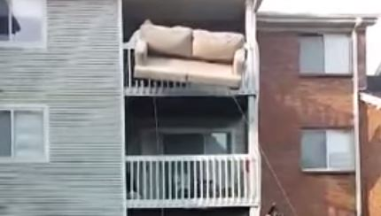 Redneck Couch Moving