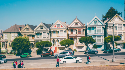 The Full House Street in San Francisco
