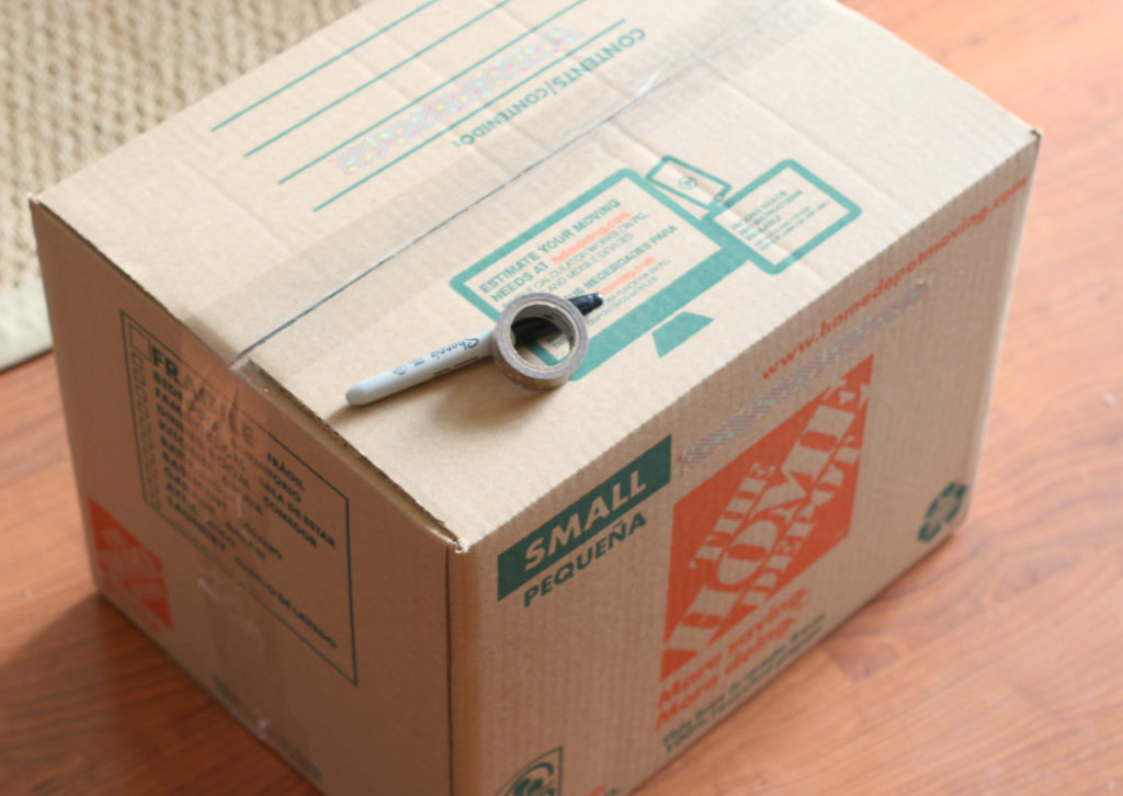 Box with Supplies