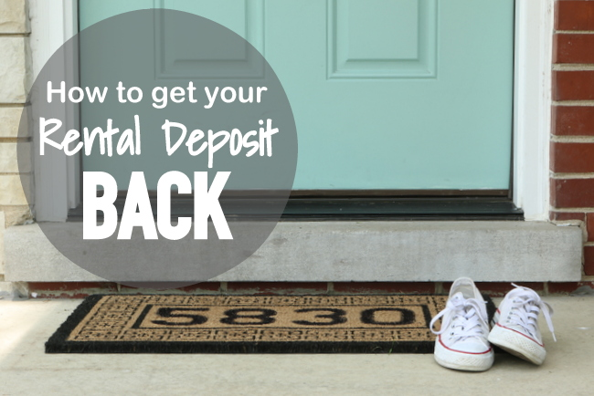 How to get your rental deposit back