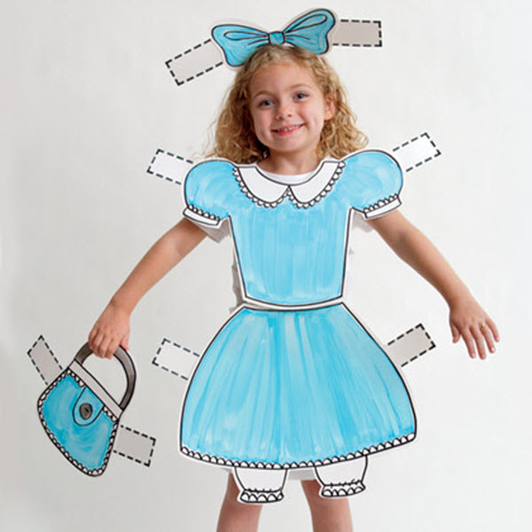 DIY Halloween Costumes - Dress Up Doll