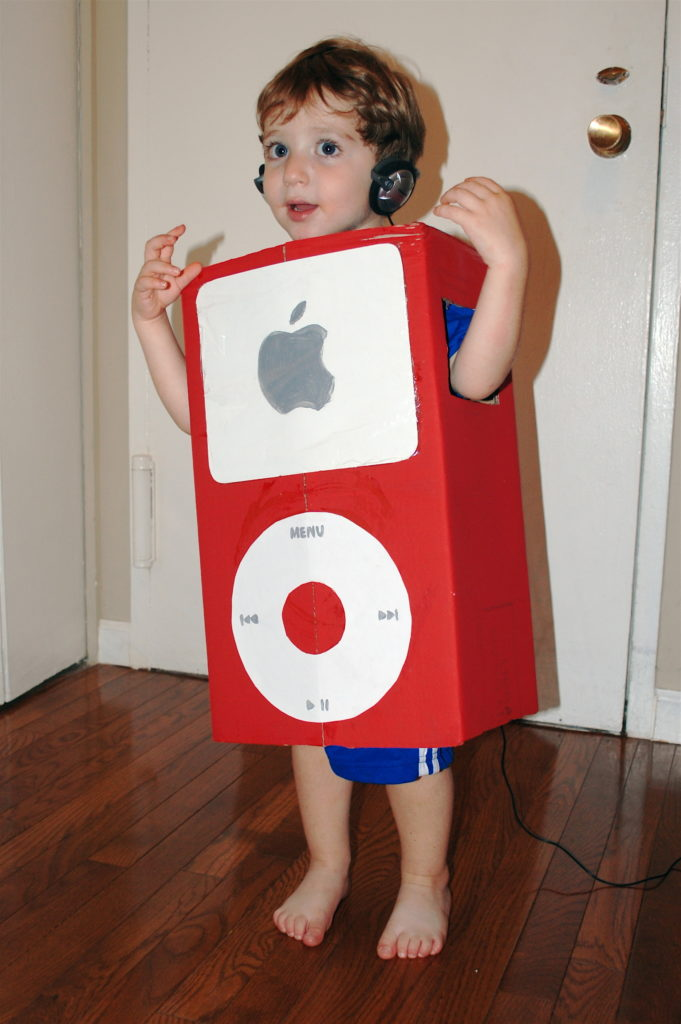 DIY Halloween Costumes - iPod or iPhone