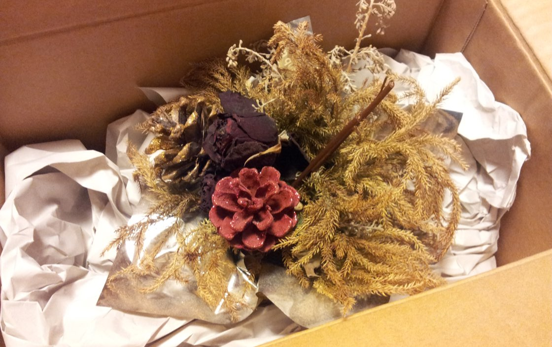 How To Pack Dried Flower Arrangements