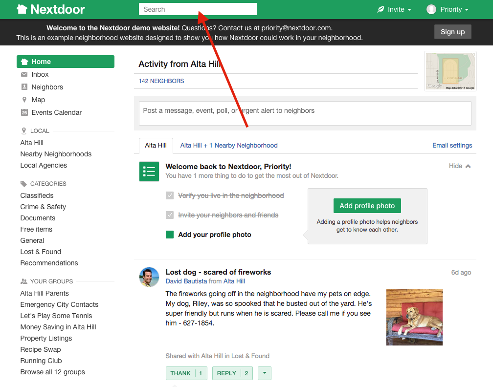 nextdoor-search