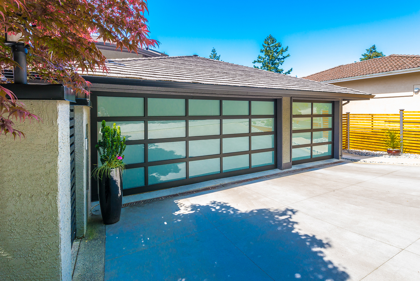 Updated garages add massive value to homes so here are 5 for Garage door trends 2017