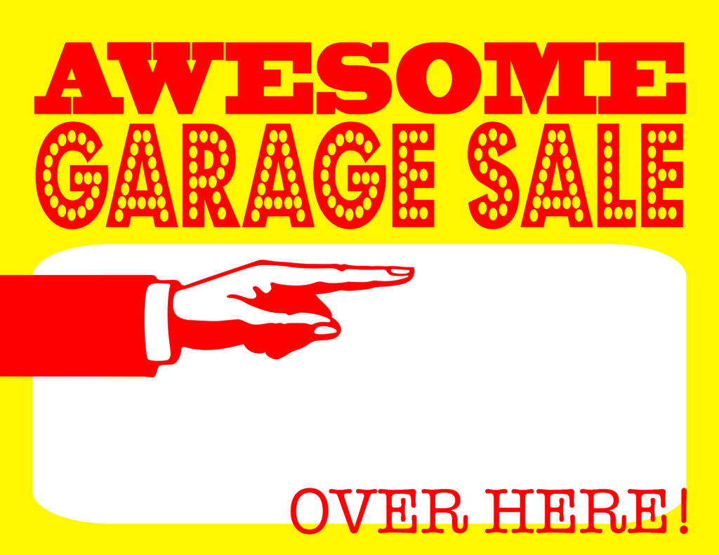 how to go about having a garage sale