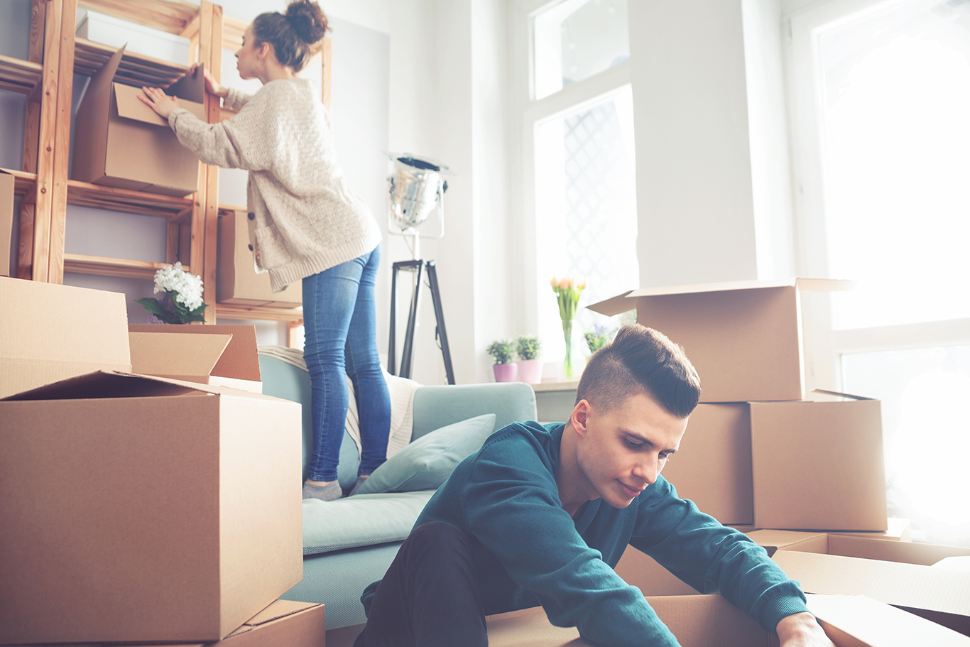 Movehacks How To Unpack And Organize Before During And