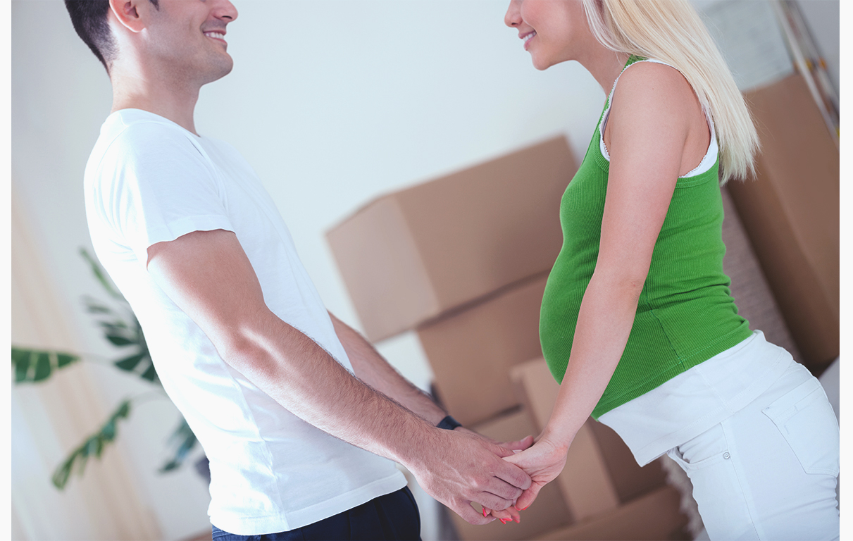 Don't be afraid to ask for help when moving while pregnant