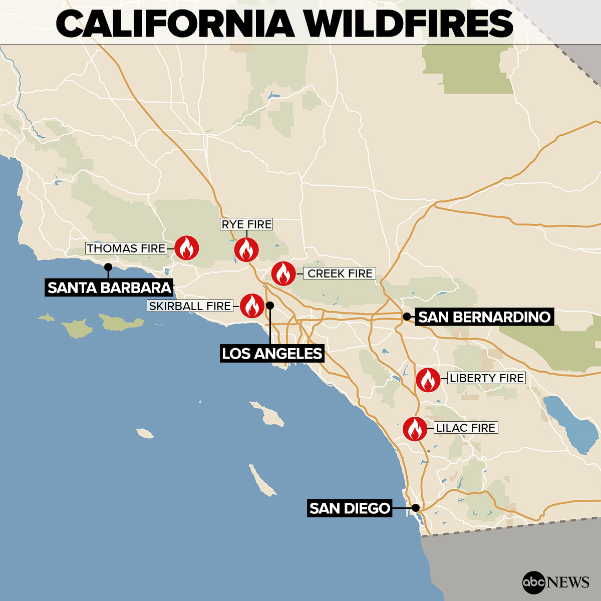 Lilac Fire Update >> Southern Californian Fires Spread Within Distance of HireAHelper HQ, Updates