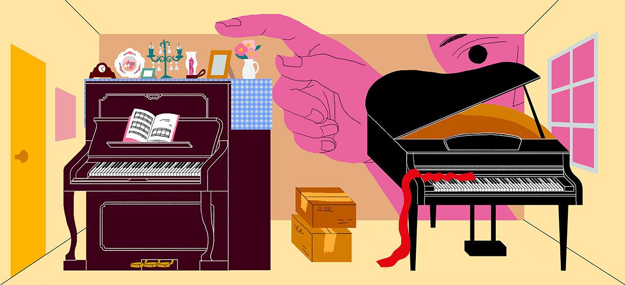 Can You Move a Piano on its Back or Side?