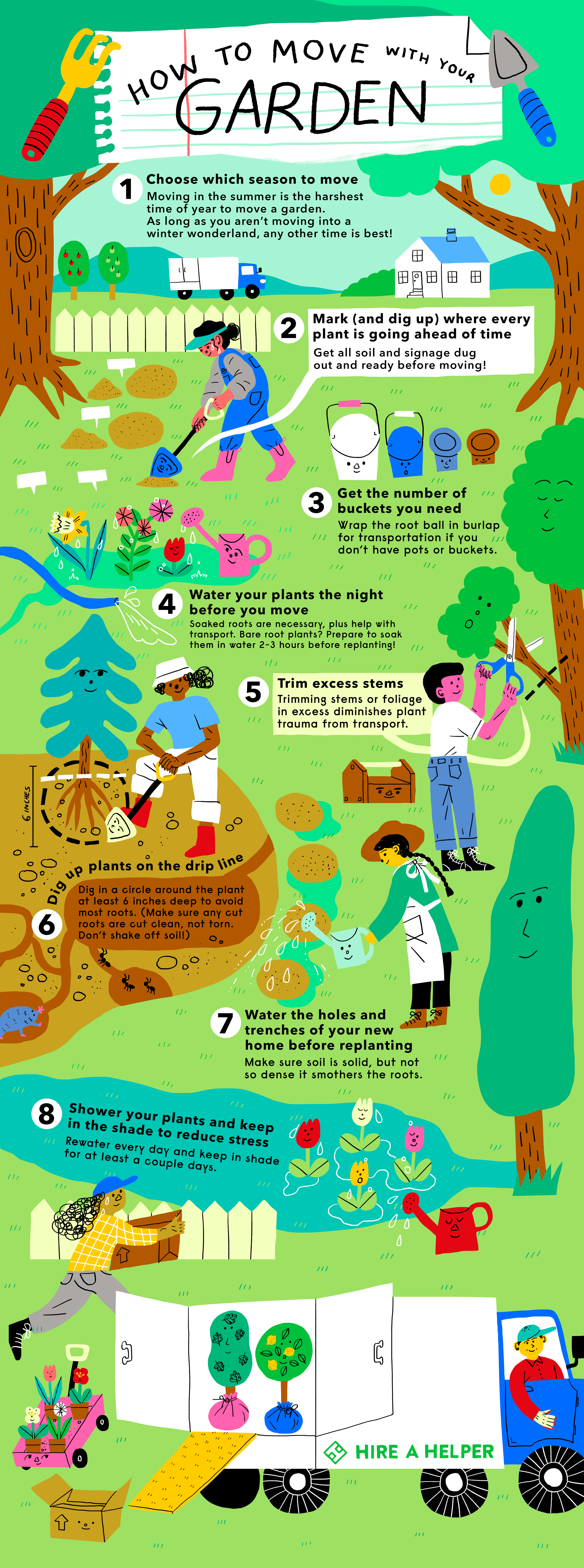 How to Move Your Garden Without Killing Your Plants